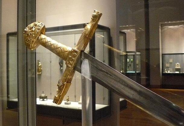 The finely crafted Joyeuse sword