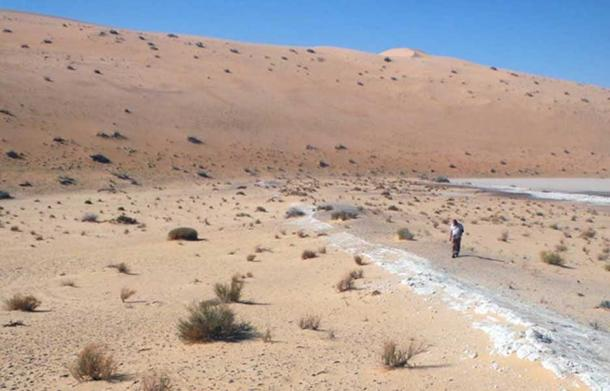 Where the finger was found. (Julien Louys/Michael Petraglia/Palaeodeserts Project)