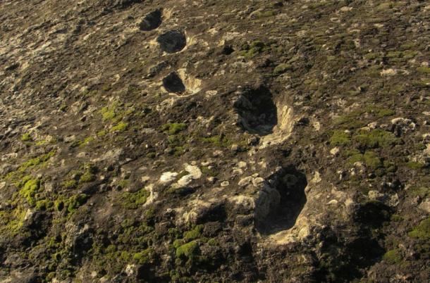 'Devil footprints' on the Ciampate del Diavolo. (Edmondo Gnerre /CC BY 2.0)