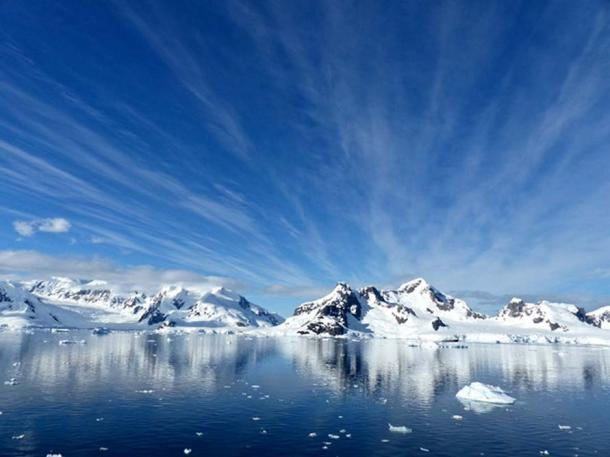 The beautiful but formidable landscape of Antarctica
