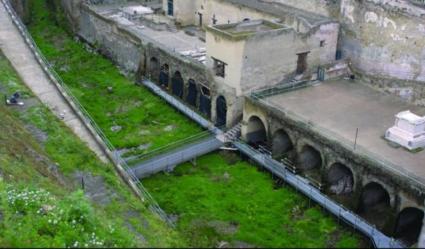 The fornici of Herculaneum. (Rachelle Martyn et al, Antiquity)
