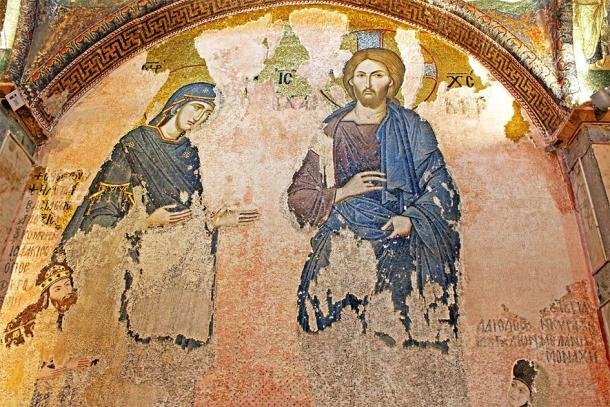 Important frescoes on the walls of the Holy Saviour. Credit: Gelia / Adobe Stock