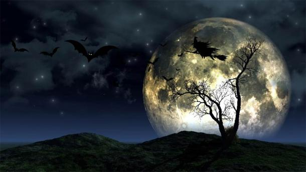 A Halloween full moon. (Kirsty Pargeter /Adobe Stock)
