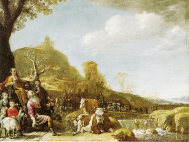 God appearing to Abraham at Sichem. (Paulus Potter / Public domain)