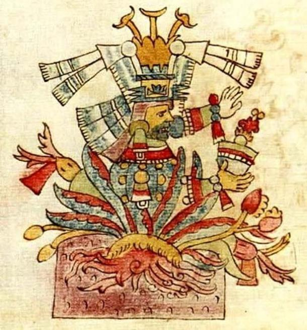 The goddess Mayahuel.