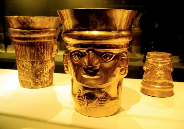 Spectacular gold ware from the Lambayeque culture