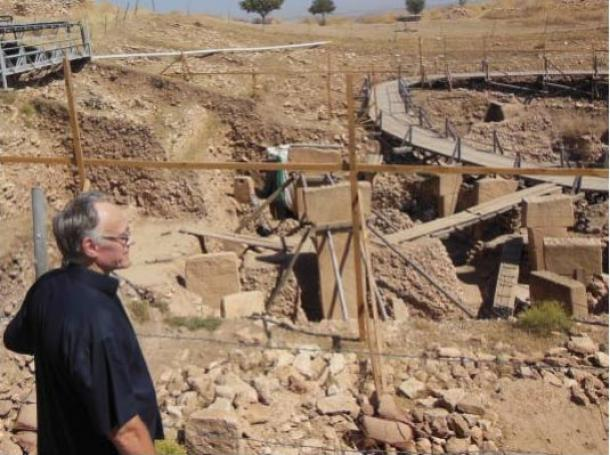 Graham Hancock at Göbekli Tepe