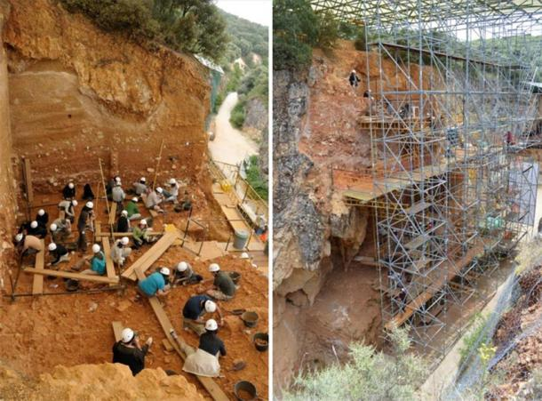 Gran Dolina preserves a long-term record of Pleistocene hominin populations. Credit: Prof. José María Bermúdez de Castro