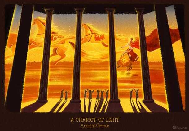 Greece - A Chariot of Light
