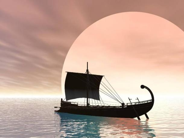 Some scholars say an advanced knowledge of astronomy may have helped the Greeks identify Atlantic currents that would propel them west
