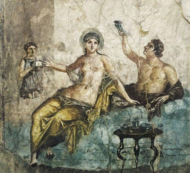 It was a group of women who were said to be at the center of a conspiracy to kill off high-ranking men in ancient Rome. Credit: Mary Evans Picture Library