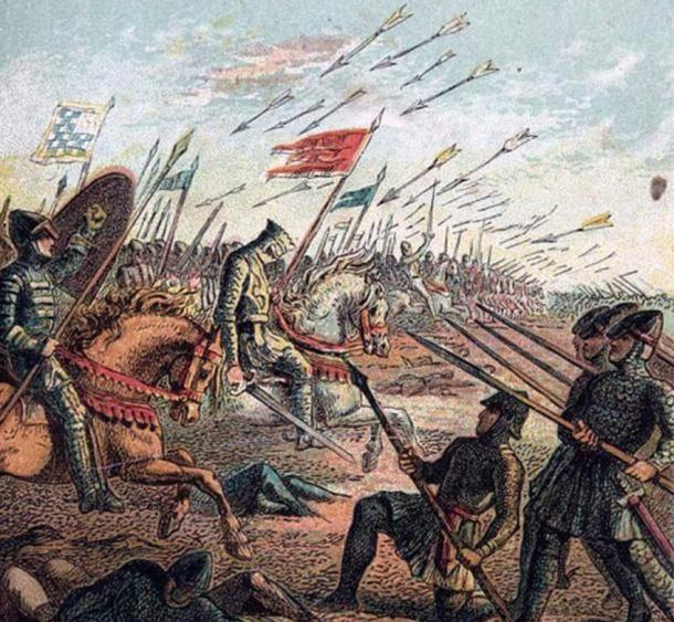 The Battle of Hastings, fought between the Anglo Saxons and the Normans on British soil