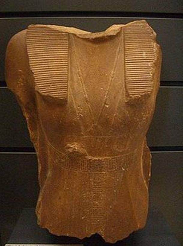 A headless statue of Sobekneferu in the Louvre