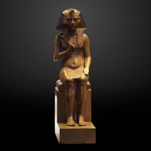 The heretic pharaoh Akhenaten. (FAPAB Research Center)
