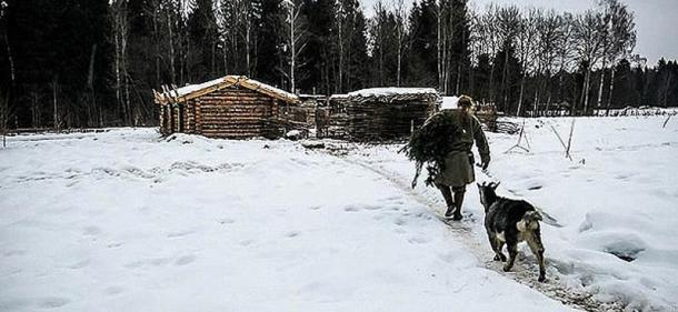 Living as a hermit in the harsh Russian winter.