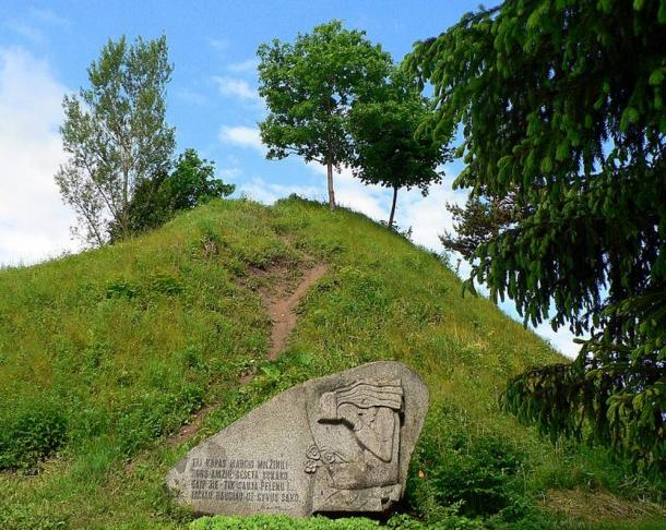 The hill fort bearing Margiris name in Punia, one of the many suggested locations of Pilėnai.