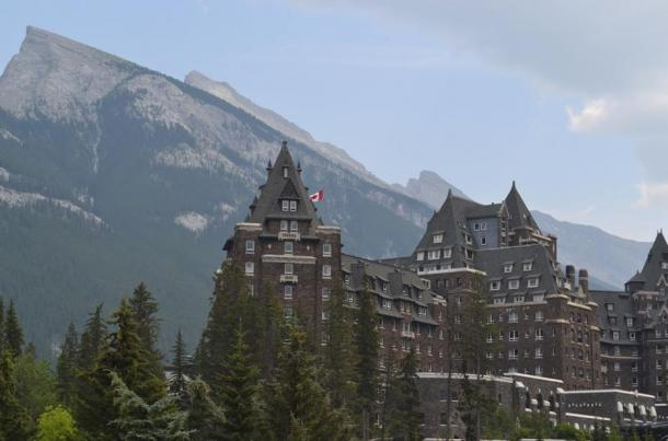 The beautiful and historic Banff, Alberta, Canada.