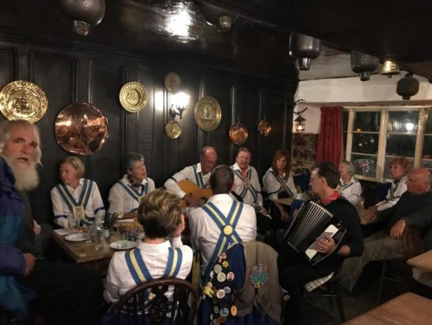 The historical British pub supports local traditions and has numerous supporters. (The Old Church House Inn / Facebook)