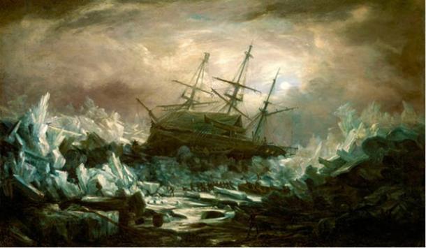 Legendaria nave perdida de la expedición de Sir John Franklin se encuentra en el Ártico