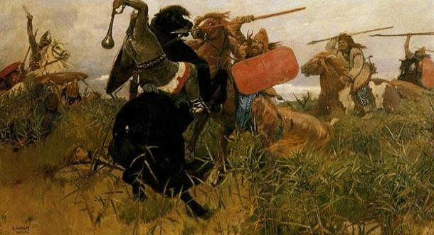 """The Sarmatians were """"barbarian"""" nomadic peoples who were skillful at horseback warfare, showcasing their might to all who came in their way"""