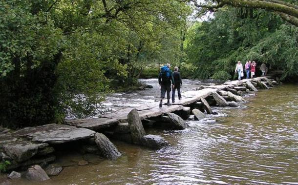 There are sites of human engineering in Exmoor area dating back to Mesolithic times