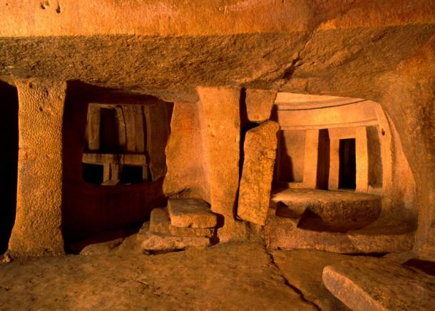 The hypogeum in Malta is an ancient monument that produces specific sound frequencies