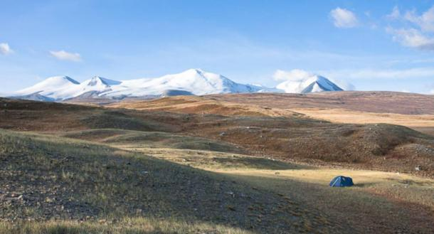 The Siberian Ice Maiden was discovered in a mound on the Ukok Plateau
