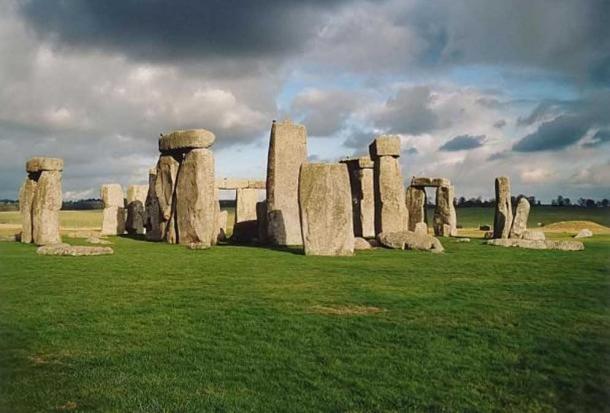 The iconic Stonehenge at Whiltshire, UK.