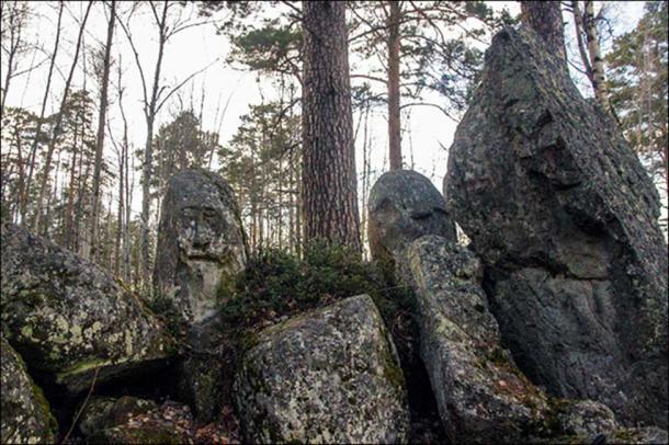 Ust-Taseyevsky stone idol.
