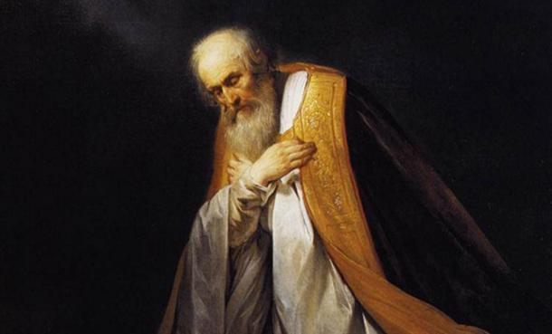 Painting illustrating David, King of Israel.