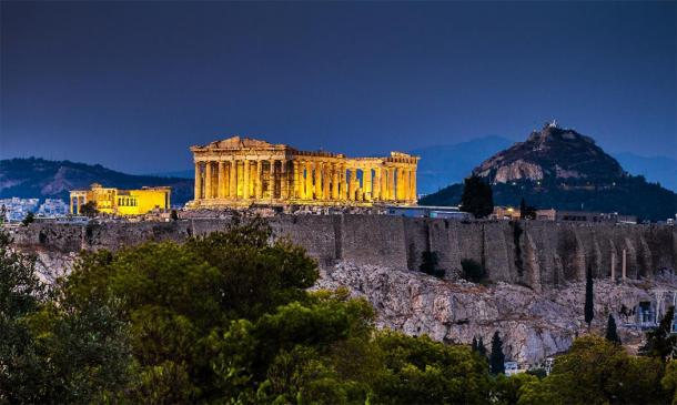 Acropolis as it stands imposingly above Athens today. (Lambros Kazan / Adobe Stock)
