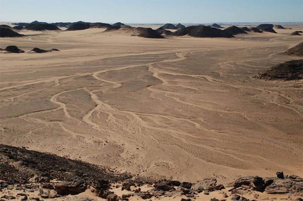 The area of Wadi Halfa, Nubian Desert (CC by SA 3.0)