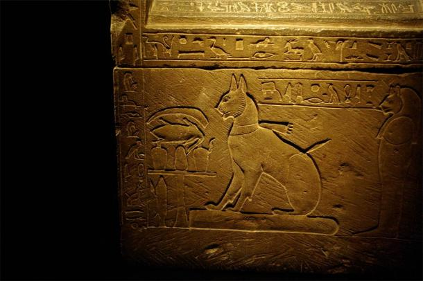 Sarcophagus of Prince Thutmose's cat, Ta-miu (CC BY-SA 2.0)