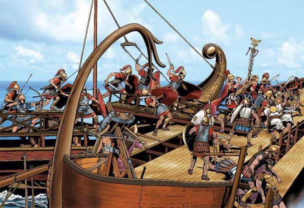 The Roman Navy attacks! (Massimo Todaro /Adobe Stock)