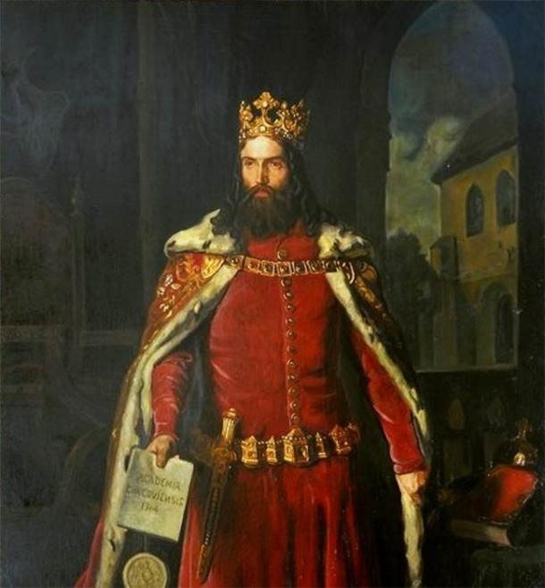 Portrait of Casimir the Great by Leopold Loeffler. (Public domain)