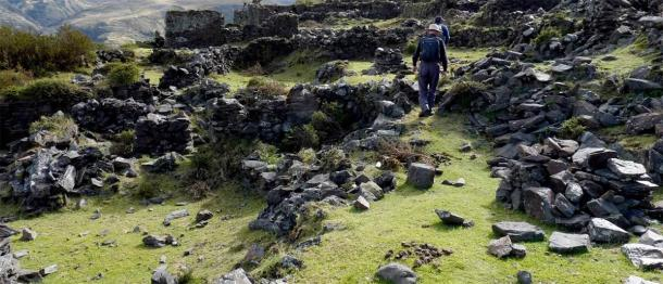 Uncharted Incan terraces found at Choquecancha on a possible path to Paititi. (Paititi Research Team)