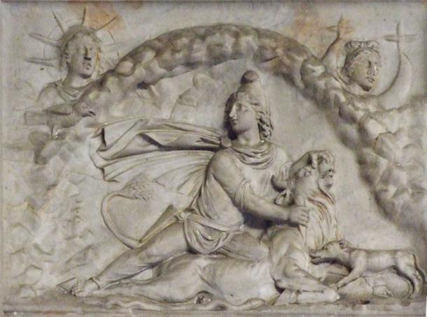 The myth of Mithras slaying the bull is represented all over Rome with several examples, such as this relief, now held at the Vatican. (CC BY-SA 3.0)