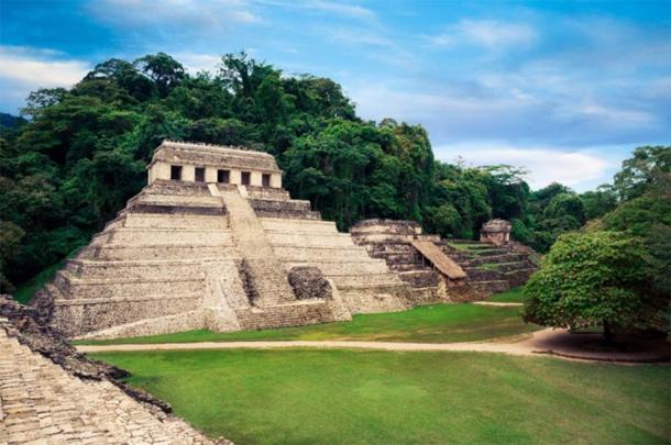 Temple of Inscriptions, Palenque where Pakal's sarcophagus was found. (fergregory / Adobe Stock)