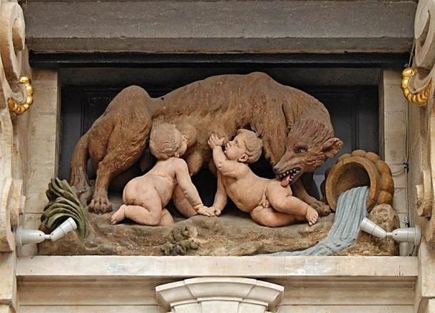 The famous story of Romulus and Remus being raised by the Lupercal, is the backdrop to the founding of Rome. (EmDee / CC BY-SA 4.0)