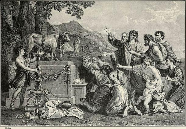 The Golden Calf from The Bible and its stories (CC0)