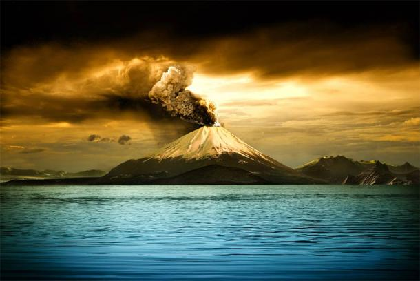 Could the 1257 Mount Salamas eruption, in Indonesia, have created the era known as the Little Ice Age? (niyazz / Adobe Stock)