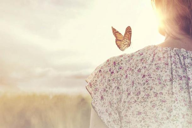 The butterfly is often associated with the moment of death and our release from the body. (Cristina Conti / Adobe Stock)