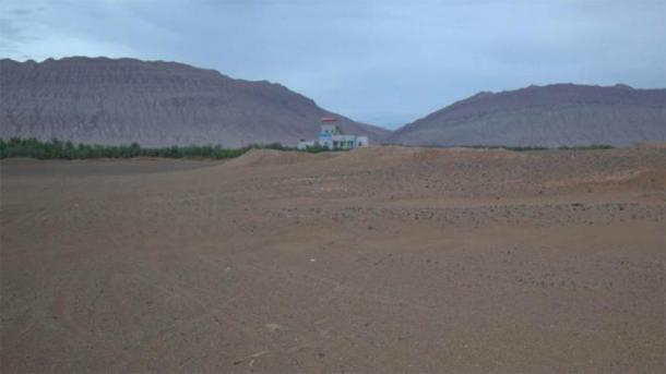 The area near the city of Turfan in northwest China. (UZH)