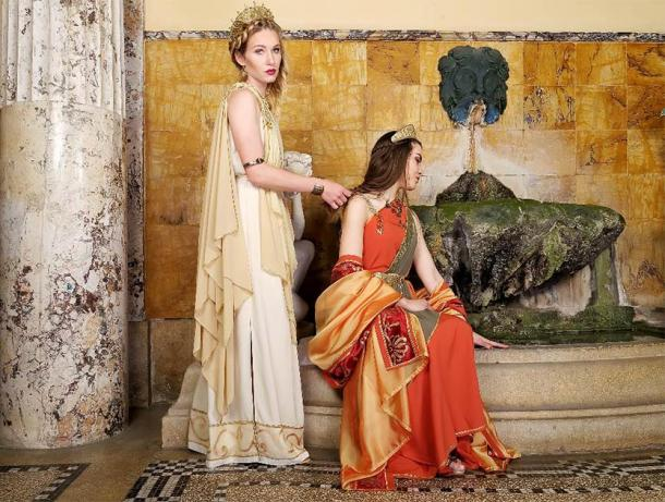 There are many rich, powerful, and historically significant characters in the series Rome. (burnel11 / Adobe Stock)