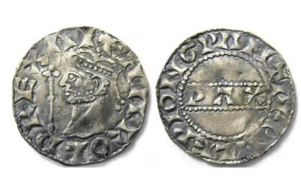 Reece Pickering's rare Henry II silver penny, a remarkable medieval coin find! (Hansons Auctioneers)