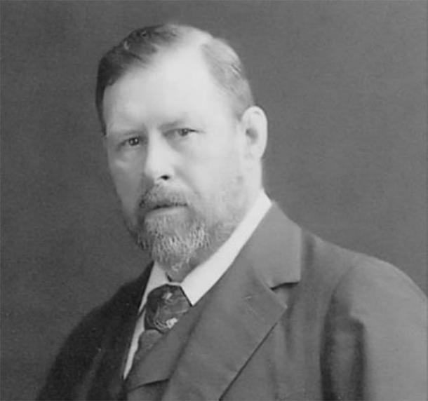 Bram Stoker, the author of the novels 'Dracula' (1897) and 'The Jewel of the Seven Stars' (1903), among many others. Credit: public domain