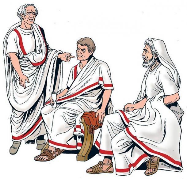 Roman senators. (Massimo Todaro /Adobe Stock)