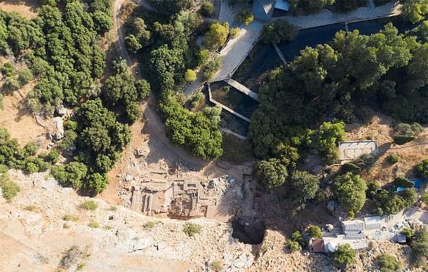 The excavation site at Banias, known as Caesarea Philippi, which experts now believe could be the site of a Jesus Miracle (Banias Excavations Team)