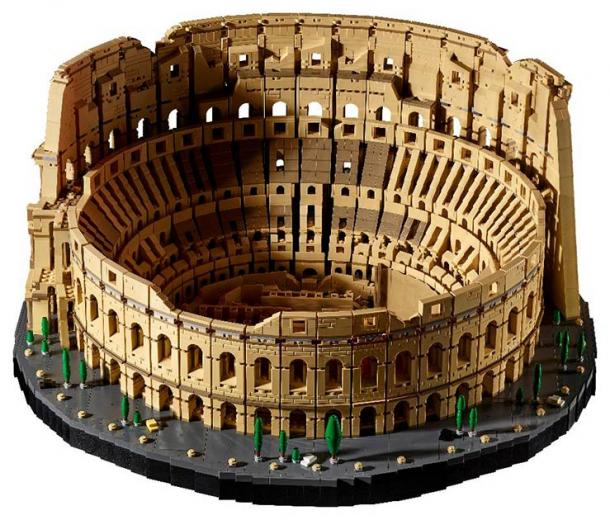 The LEGO Colosseum model. (LEGO)