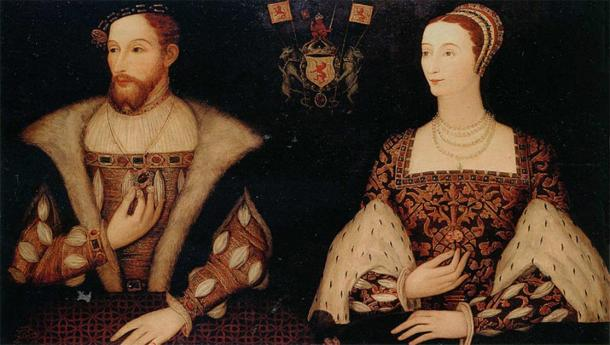 James V of Scotland and Mary of Guise, Mary's parents. (Public Domain)